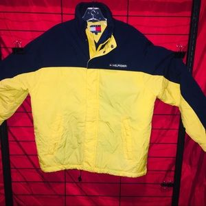 Tommy Hilfiger Vintage Mens Small Insulated Jacket